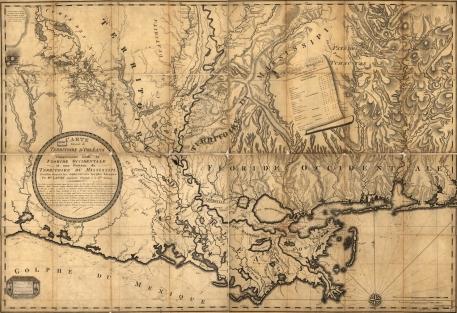 Barthelemy_Lafon_-_Map_of_Louisiana_-_1806_-_001