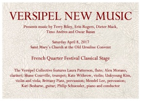 Versipel Collective at French Quarter Festival4/8/17!!!