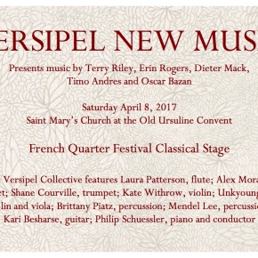 Versipel Collective at French Quarter Festival 4/8/17!!!