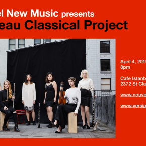 Versipel presents Nouveau Classical Project 4/4 @Cafe Istanbul